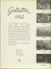 Page 7, 1952 Edition, Gallatin County High School - Gallatin Yearbook (Bozeman, MT) online yearbook collection