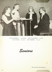 Page 16, 1956 Edition, Gallatin County High School - Gallatin Yearbook (Bozeman, MT) online yearbook collection