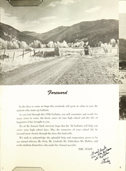 Page 5, 1956 Edition, Gallatin County High School - Gallatin Yearbook (Bozeman, MT) online yearbook collection