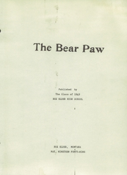 Page 3, 1949 Edition, Box Elder High School - Bear Paw Yearbook (Box Elder, MT) online yearbook collection