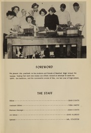 Page 9, 1952 Edition, Rosebud High School - Brier Yearbook (Rosebud, MT) online yearbook collection