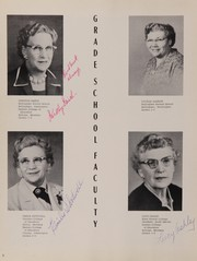 Page 10, 1957 Edition, Rosebud High School - Brier Yearbook (Rosebud, MT) online yearbook collection