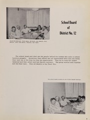 Page 13, 1957 Edition, Rosebud High School - Brier Yearbook (Rosebud, MT) online yearbook collection
