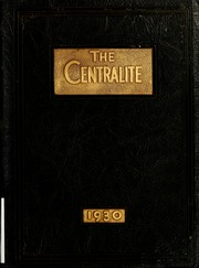 1930 Edition, Girls Central High School - Centralite Yearbook (Butte, MT)