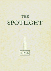 1934 Edition, Brady High School - Spotlight Yearbook (Brady, MT)