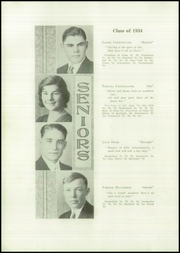 Page 10, 1934 Edition, Brady High School - Spotlight Yearbook (Brady, MT) online yearbook collection