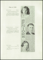 Page 11, 1934 Edition, Brady High School - Spotlight Yearbook (Brady, MT) online yearbook collection