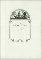 Page 5, 1934 Edition, Brady High School - Spotlight Yearbook (Brady, MT) online yearbook collection