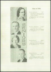 Page 8, 1934 Edition, Brady High School - Spotlight Yearbook (Brady, MT) online yearbook collection