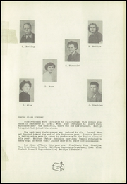 Page 13, 1952 Edition, Brady High School - Spotlight Yearbook (Brady, MT) online yearbook collection