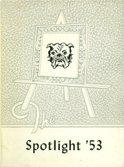 1953 Edition, Brady High School - Spotlight Yearbook (Brady, MT)