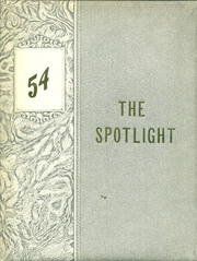 1954 Edition, Brady High School - Spotlight Yearbook (Brady, MT)
