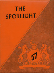 1957 Edition, Brady High School - Spotlight Yearbook (Brady, MT)
