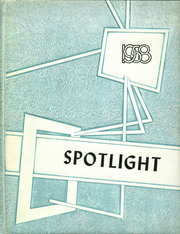 1958 Edition, Brady High School - Spotlight Yearbook (Brady, MT)