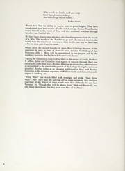 Page 10, 1962 Edition, St Marys College California - Gael Yearbook (Moraga, CA) online yearbook collection