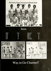 Page 107, 1986 Edition, University of Great Falls - Caritas Yearbook (Great Falls, MT) online yearbook collection