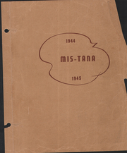 1945 Edition, Mission High School - Qua Quei Yearbook (St Ignatius, MT)