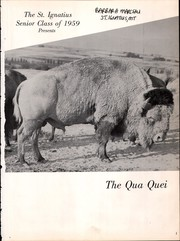 Page 5, 1959 Edition, Mission High School - Qua Quei Yearbook (St Ignatius, MT) online yearbook collection