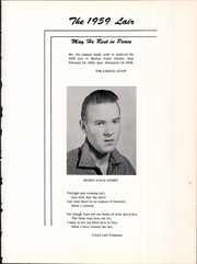 Page 5, 1959 Edition, Kremlin High School - Lair Yearbook (Kremlin, MT) online yearbook collection