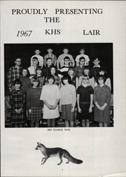 Page 7, 1967 Edition, Kremlin High School - Lair Yearbook (Kremlin, MT) online yearbook collection