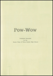 Page 3, 1920 Edition, Teton County High School - Pow Wow Yearbook (Choteau, MT) online yearbook collection