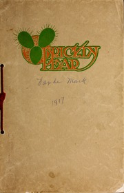 1917 Edition, Montana Wesleyan University - Prickly Pear Yearbook (Helena, MT)