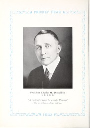 Page 12, 1923 Edition, Montana Wesleyan University - Prickly Pear Yearbook (Helena, MT) online yearbook collection