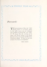 Page 13, 1923 Edition, Montana Wesleyan University - Prickly Pear Yearbook (Helena, MT) online yearbook collection