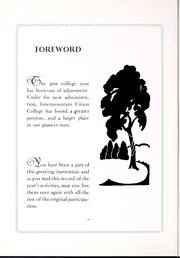 Page 10, 1930 Edition, Intermountain Union College - Prickly Pear Yearbook (Helena, MT) online yearbook collection