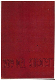 Page 1, 1939 Edition, San Diego State University - Del Sudoeste Yearbook (San Diego, CA) online yearbook collection