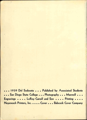 Page 4, 1939 Edition, San Diego State University - Del Sudoeste Yearbook (San Diego, CA) online yearbook collection