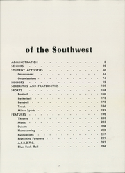 Page 11, 1954 Edition, San Diego State University - Del Sudoeste Yearbook (San Diego, CA) online yearbook collection