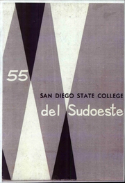 Page 1, 1955 Edition, San Diego State University - Del Sudoeste Yearbook (San Diego, CA) online yearbook collection