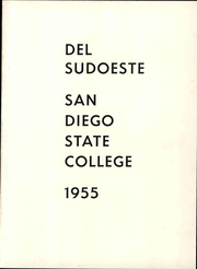 Page 7, 1955 Edition, San Diego State University - Del Sudoeste Yearbook (San Diego, CA) online yearbook collection