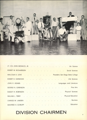 Page 13, 1956 Edition, San Diego State University - Del Sudoeste Yearbook (San Diego, CA) online yearbook collection