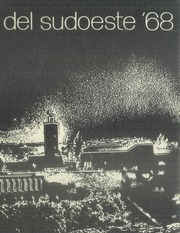 1968 Edition, San Diego State University - Del Sudoeste Yearbook (San Diego, CA)
