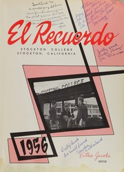 Page 5, 1956 Edition, Stockton College - El Recuerdo Yearbook (Stockton, CA) online yearbook collection