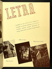 Page 9, 1938 Edition, University of Redlands - La Letra Yearbook (Redlands, CA) online yearbook collection