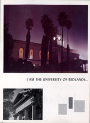 Page 5, 1962 Edition, University of Redlands - La Letra Yearbook (Redlands, CA) online yearbook collection