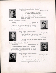 Page 15, 1900 Edition, United States Naval Academy - Lucky Bag Yearbook (Annapolis, MD) online yearbook collection