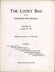 Page 5, 1900 Edition, United States Naval Academy - Lucky Bag Yearbook (Annapolis, MD) online yearbook collection