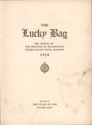 Page 7, 1916 Edition, United States Naval Academy - Lucky Bag Yearbook (Annapolis, MD) online yearbook collection