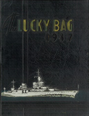 1937 Edition, United States Naval Academy - Lucky Bag Yearbook (Annapolis, MD)