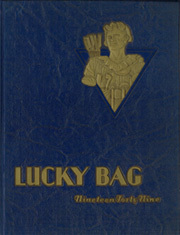 1949 Edition, United States Naval Academy - Lucky Bag Yearbook (Annapolis, MD)