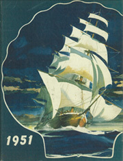 1951 Edition, United States Naval Academy - Lucky Bag Yearbook (Annapolis, MD)