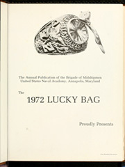 Page 5, 1972 Edition, United States Naval Academy - Lucky Bag Yearbook (Annapolis, MD) online yearbook collection