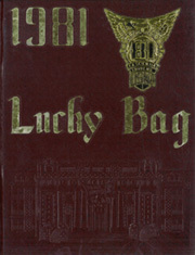 1981 Edition, United States Naval Academy - Lucky Bag Yearbook (Annapolis, MD)