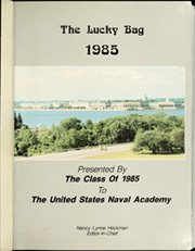 Page 5, 1985 Edition, United States Naval Academy - Lucky Bag Yearbook (Annapolis, MD) online yearbook collection