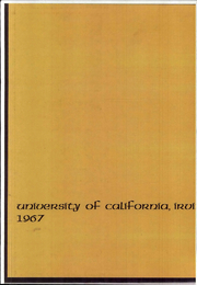 Page 3, 1967 Edition, University of California Irvine - Cortex Yearbook (Irvine, CA) online yearbook collection