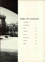 Page 9, 1967 Edition, University of California Irvine - Cortex Yearbook (Irvine, CA) online yearbook collection
